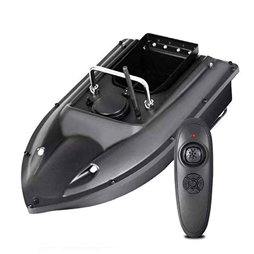 LWXXXA Barco de Cebo de Pesca con Control Remoto, corrige automáticamente la Ruta, función de Crucero de Velocidad Fija, Caja de Cebo de Gran Capacidad, Barco de 500 m RC