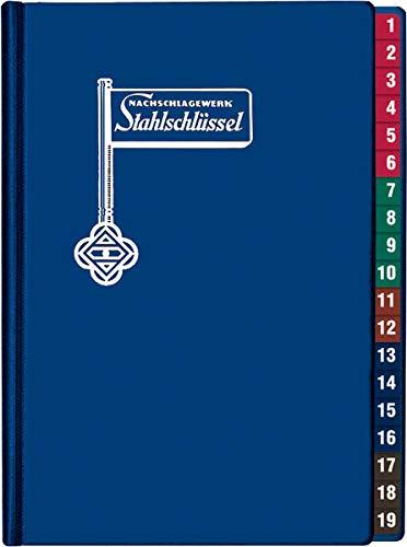 Stahlschlüssel - Key to Steel 2019: Nachschlagewerk Dt./Engl./Franz.
