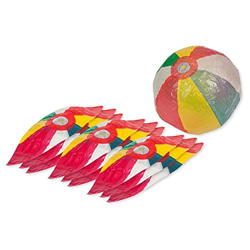 Japanische Papierbälle 10er Set, ø 17 cm, Spielball, Therapieball, Therapie, Spielen