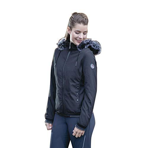 HKM Damen Winterjacke-9799 Jacke, schwarz, 176