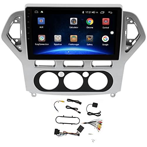 Cloudbox Reproductor Multimedia USB, Reproductor de Video, MP5, Radio de Coche, Multimedia con navegación, Compatible con Ford Mondeo 2007-2011