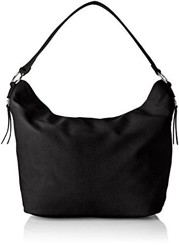 PIECES Damen Pcmarie Bag Schultertasche, Schwarz (Black), 18x31x44 cm