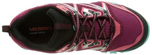 Merrell - Capra Bolt GTX - Chaussure de randonnée - Basse - Femme - Rouge (Bright Red) - 39 EU (6 UK)