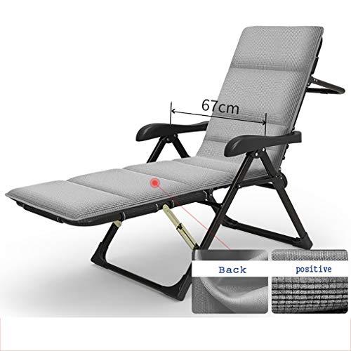 Lw Yychair luxe schommelstoel met verstelbare rugleuning, frame van metaal, zachte matras