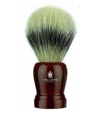 Brocha de Afeitar Vie Long Pelo de Caballo Natural Hecho a Mano + Peana 13710