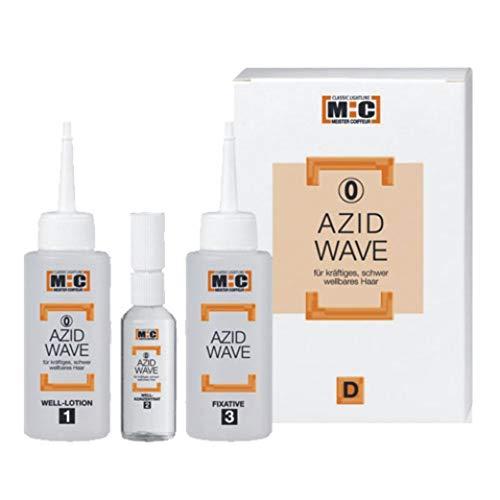 M:C Azid Well-Set 1 normales/unbehandeltes Haar Lotion 62ml,Fix. 75ml,Konzentrat 12ml