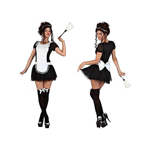 Atosa - 22926 - Costume - Déguisement De Domestique - Adulte - Taille 3