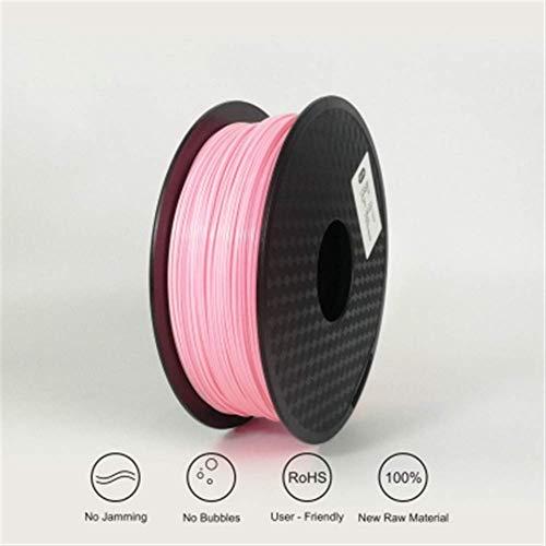 3D Printing Filament TPU Flexible Filament TPU filament Plastic for3D Printer 1.75mm Printing Materials Gray Black Red Color toughness (Color : Blue) JIAJIAFUDR (Color : Pink)