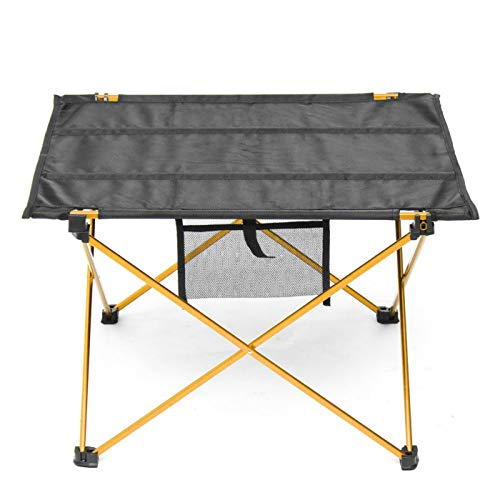 Belleashy Mesa plegable ultraligera portátil plegable mesa de viaje picnic escritorio para barbacoa al aire libre camping para comedor corte cocina picnic