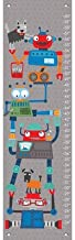 """Oopsy Daisy Robot Stack Growth Chart, 12 x 42"""", Blue"""