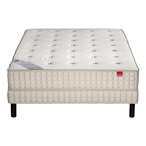 Ensemble Epeda ORCHIDEE 620 ressorts Confort Medium 160x190 avec 2 sommiers