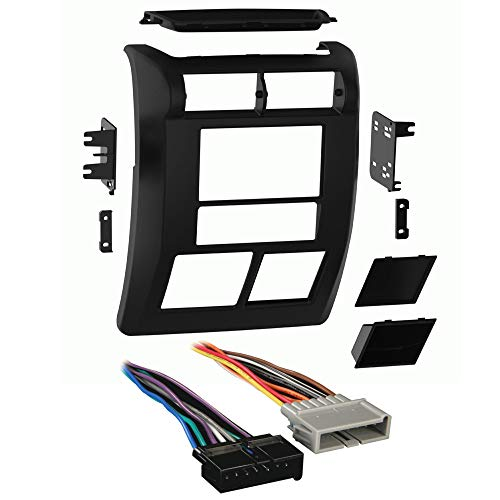 Metra 95-6549 2-DIN Dash Kit For Select 1997-2002 Jeep Wrangler with Harness Combo + FREE Tweeters