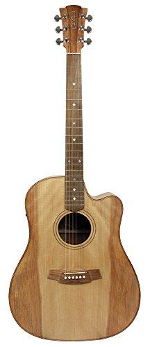 Cole Clark ccfl2ec-bm Gitarre Elektro-Akustisch