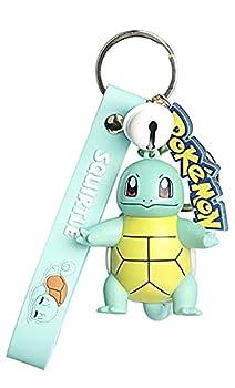 Pokemon keychain Kanto Starters Keyring Pendant Squirtle