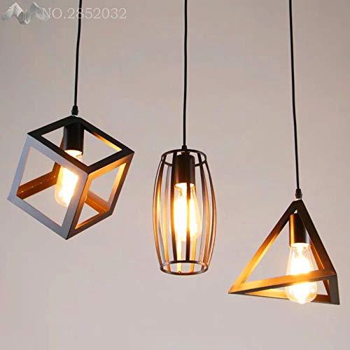 5151BuyWorld lamp met Scandinavische eenvoud van het hoofdlicht, topkwaliteit, verlichting van de lamp van ijzer, kamer, bar, cafés, cilindrische plek, lampen, oorbellen