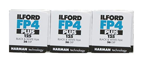 Ilford FP4+ 125ASA 35mm 36exp, 3Stück