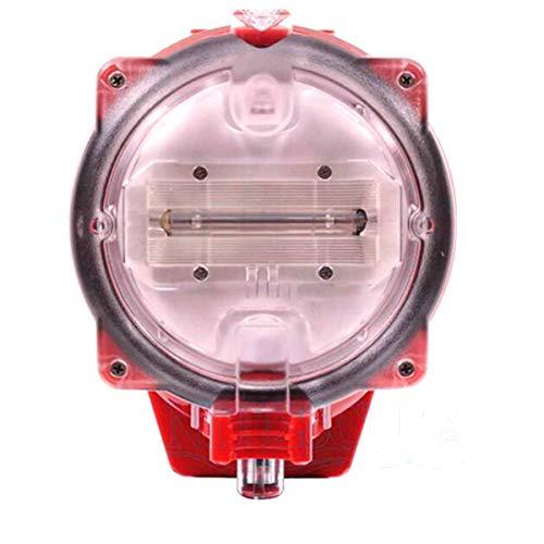 HIUHIU Estroboscopio Linterna de Buceo, Caja de la cámara Resistente al Agua bajo el Agua fotografía Accesorios