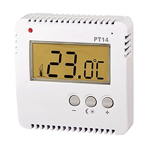 Knebel Thermostat kabelgebunden Aufputz PT14, digital, einfach, 230 V 16 A