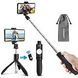 ELEGIANT Perche Selfie Bluetooth, Selfie Stick Trépied Monopode avec Télécommande...