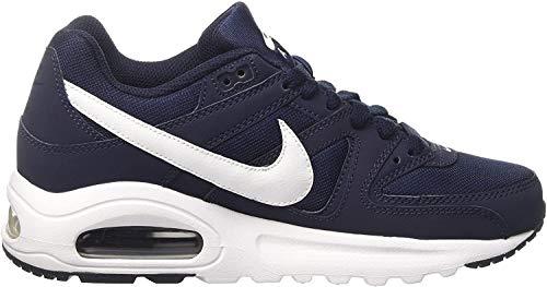 Nike Jungen Air Max Command Flex (GS) Traillaufschuhe, Blau (Obsidian/White/Black 400), 35.5 EU