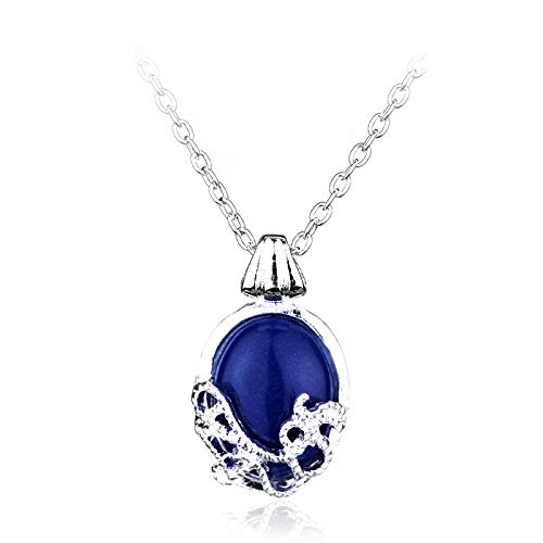 N / A Gothic necklace Alloy Pendent Charm Necklace Nature Stone Fashion Pendants Cool Necklaces The Vampire Diaries Katherine Movie Jewelry
