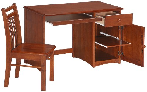 Big Sale Best Cheap Deals Night & Day Clove Student Desk and Chair Cherry