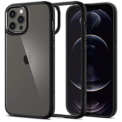 Spigen Ultra Hybrid Designed for iPhone 12 Pro Max Case (2020) - Matte Black
