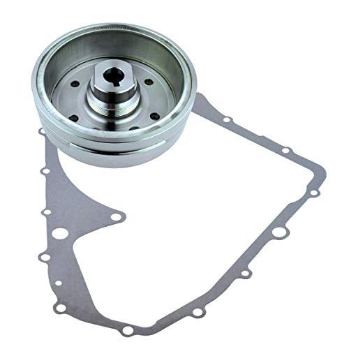 Kit Flywheel + Crankcase Cover Gasket for Suzuki LTA 400 Eiger 2002-2007 | OEM Repl.# 32102-38F00 32102-38F01 / 32101-38F00