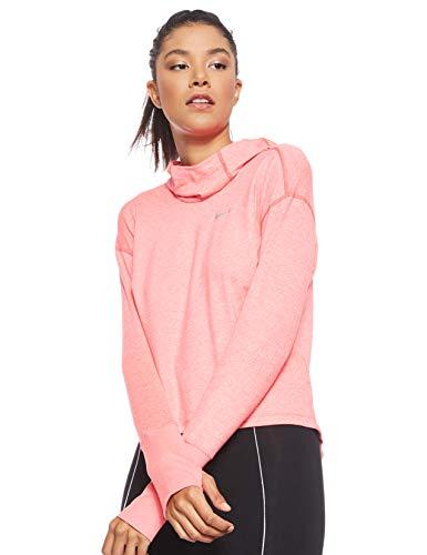 Nike Damen W NK ELMNT Hoodie, Rot (Ember Glow/Pink Gaze /Reflecti), M