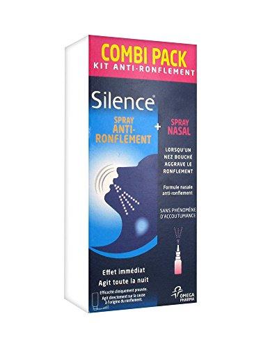 Silence Combipack / Throat Spay + Nose Spray