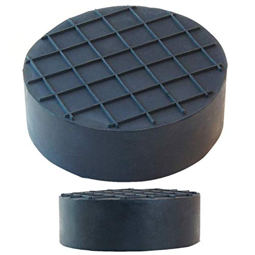 sarian 75x25mm Gummiauflagen für Wagenheber Rangierwagenheber universal Gummiblock für KFZ PKW SUV