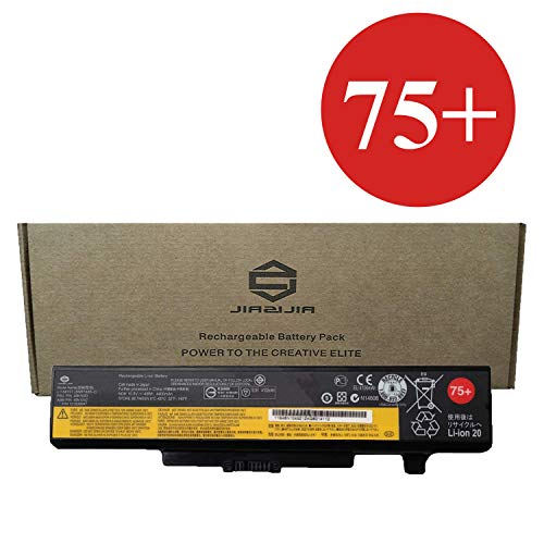 JIAZIJIA 45N1043 Laptop Battery Compatible with Lenovo ThinkPad E530 E530C E531 E540 E545 B590 Series 75+ 0A36311 45N1042 45N1044 45N1045 45N1050 45N1051 L11S6F01 L11M6Y01 10.8V 48Wh 4400mAh 6-Cell