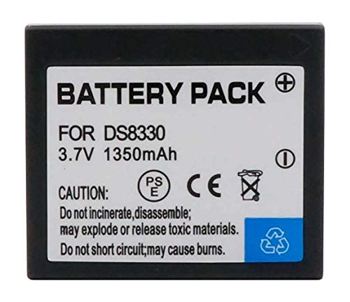 Amsahr Digital Replacement Camera and Camcorder Battery for Sanyo DS-8330, VPC-E1000, VPC-W800