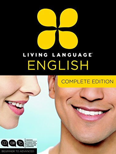Compare Textbook Prices for Living Language English, Complete Edition ESL/ELL: Beginner through advanced course, including 3 coursebooks, 9 audio CDs, and free online learning Unabridged Edition ISBN 9780307972347 by Living Language,Quirk, Erin