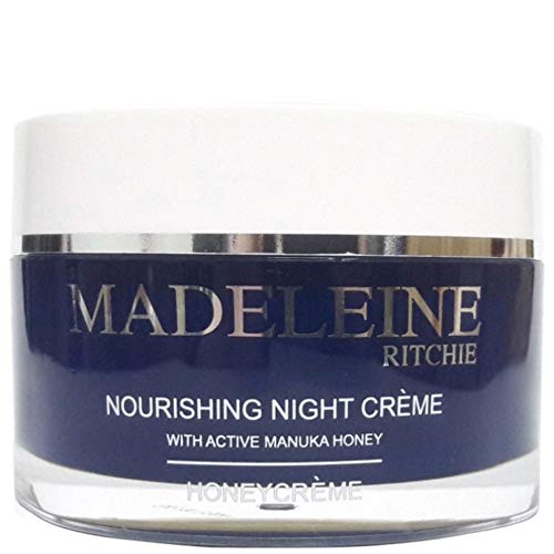 Madeleine Ritchie New Zealand HoneyCreme Nourishing Night Creme with Active Manuka Honey 100ml Anti-Aging Night Firming Cream & Face Moisturiser