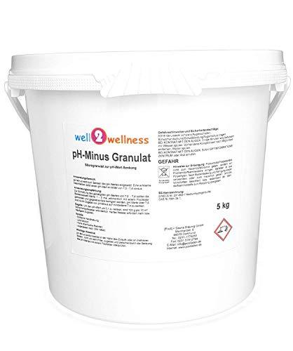 well2wellness pH Minus Granulat/pH Senker Granulat 5,0 kg