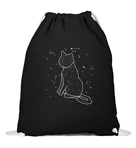 Sternbild Katze Sternzeichen Turnbeutel | Astrologie Horoskop Süß Gymsac