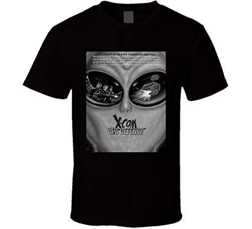N/N X Com UFO Defense Games t Shirt Nero 3XL