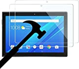 Dragon Touch KidzPad Y88X 10 Kids Tablet Screen Protector, [2-Pack] Tempered Glass Film [ Anti-Fingerprints ] [ Touch Sensitive ] [ Easy Install ] 9H Hardness Protective Film Screen Protector for Dragon Touch KidzPad Y88X 10 Kids Tablet