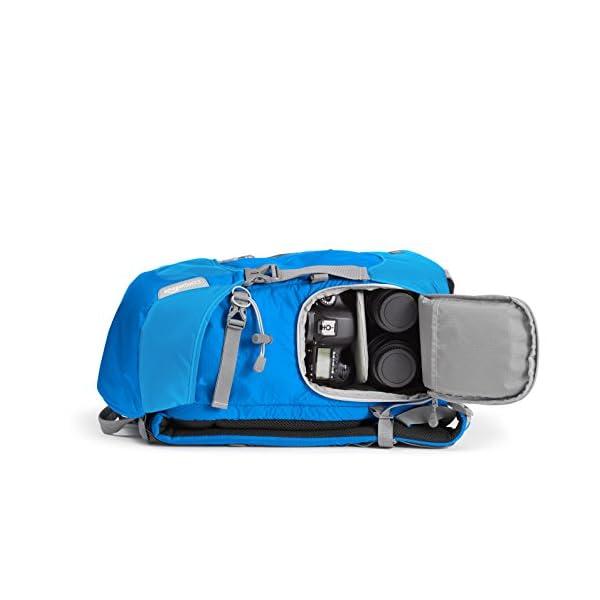41m8AmxpFzL. SS600  - AmazonBasics - Mochila para cámara, para senderistas - Azul