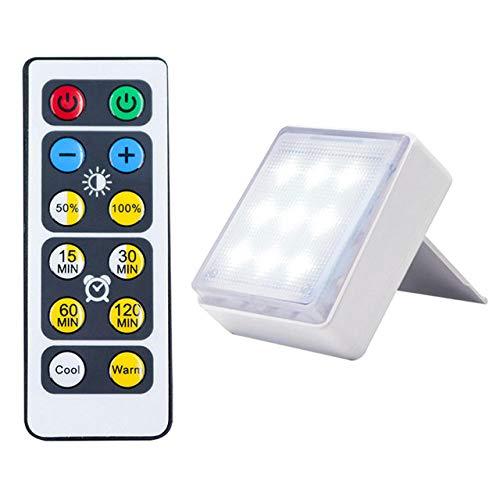Luces de noche de gabinete LED inalámbrico luz de noche con atenuación táctil energía de la batería sala de estar dormitorio armario cocina lámpara de pared-1_lamp_1_controller