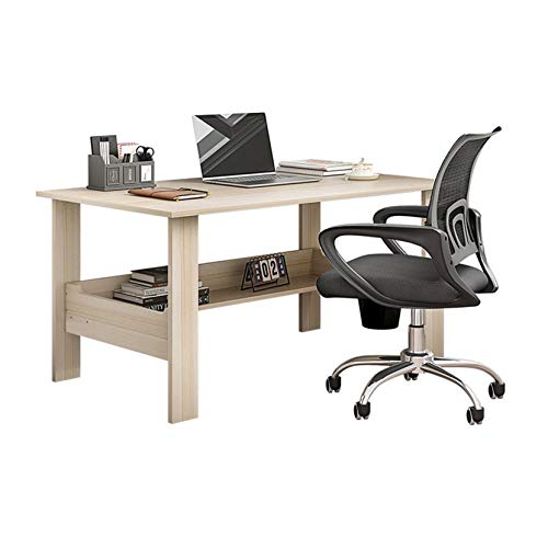 """US Rapid Shipment Computer Desk 40"""" Study Writing Table for Home Office, Modern Simple Style Computer Desk- 5 Colors Availbale (White)"""