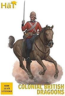 Hat 1/72 Colonial British Dragoons # 8288 by HaT Industrie
