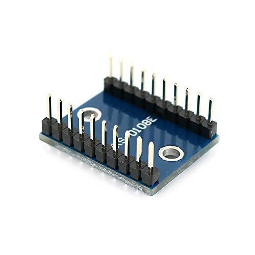 Módulo electrónico Nivel lógico Shifter Nivel lógico Nivel convertidor de voltaje-Shifting Traductor Módulo 8 bits bidireccional for OPEN-SMART for A-r-d-u-i-n-o - Los productos que funcionan con el o