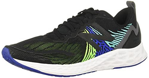 New Balance Fresh Foam Tempo, Zapatillas para Correr Hombre, Black Energy Lime, 41.5 EU