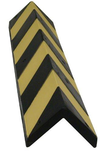 Viso SQ818 Rubber Hoekbeschermer - Zwart en Geel