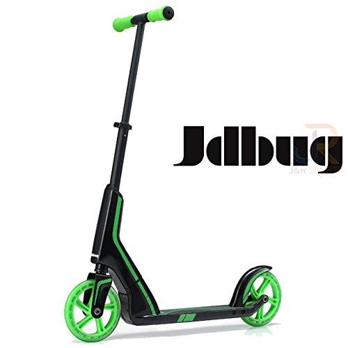 JD Bug Pro Commuter Scooter, Schwarz / Grün