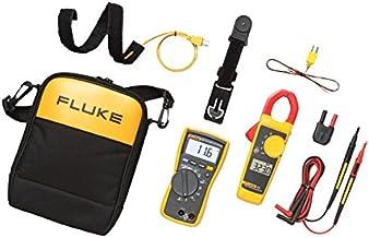 Fluke 116/323 KIT HVAC Multimeter and Clamp Meter Combo Kit – Fluke-116/323 KIT