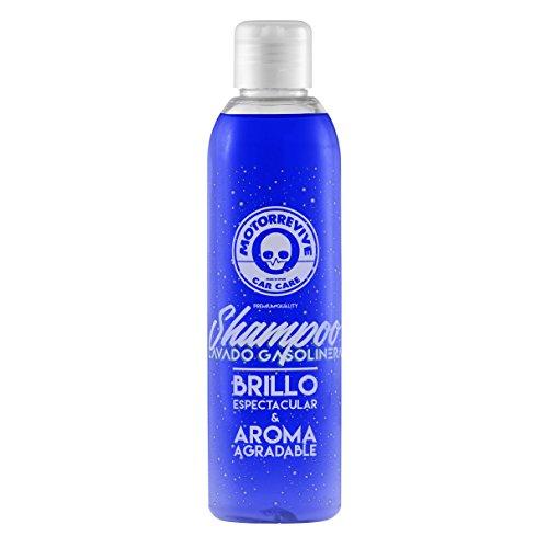 Motorrevive - Shampoo para lavar coche y moto, efecto brillo, PH Neutro - 450 ml