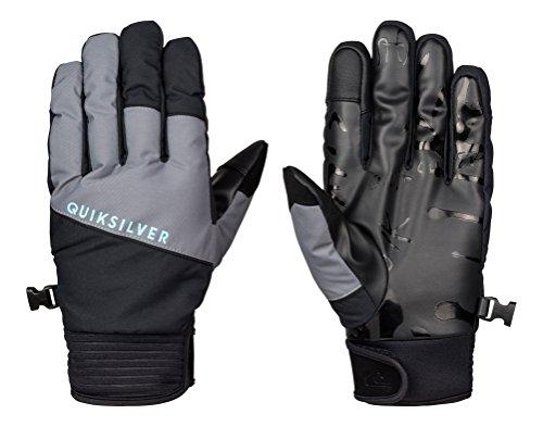 Quiksilver Herren Gloves Method M, grau, M